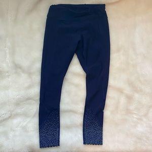 """Lululemon Blue 25"""" Leggings - size 4"""